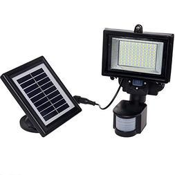 GreenLighting Solar Security Light - 80 LED Motion Sensor Fl