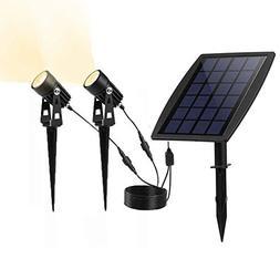 AVEKI Solar Spotlights Outdoor, Solar Garden Lights Waterpro