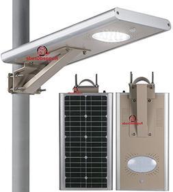 15 Watt LED Solar Street Light – Over 1,500 Lumen - All in