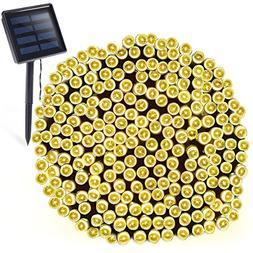 OxyLED Solar String Lights Outdoor, 72ft 200 LED Solar Led F