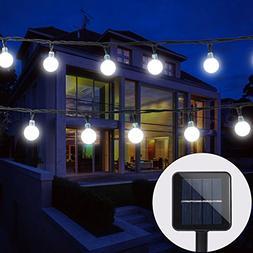 BAOANT Solar String Lights Fairy lights 20Ft 30 LED Crystal