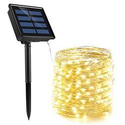 solar string lights wire