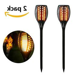 Solar Torch Light Dancing Pathway Lighting Outdoor Waterproo
