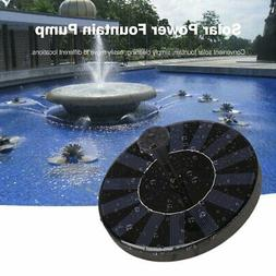 solar water panel power fountain pump kit