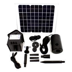 10 Watt Solar Powered Outdoor Garden Water Pump Landscape Fo