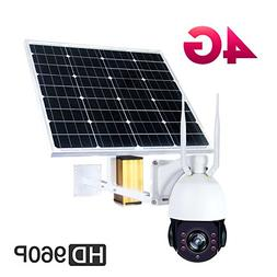 Solar 4G WIFI PTZ CAMERA ,High Speed Outdoor Security Camera