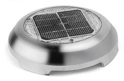 Solar Wind Power nicro Stainless Steel Day/Night Plus Vent,