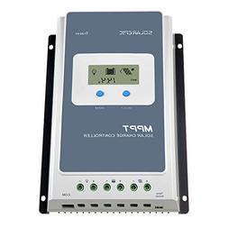 SolarEpic 40A MPPT Solar Charge Controller 100V input Tracer