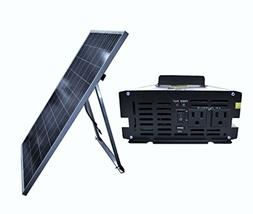 Ensupra SolarGen1KW 1000-watt Solar Power Generator with 240