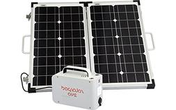 Solpro Solarpod 240 with 60W 12V Folding Rigid Solar Panel -