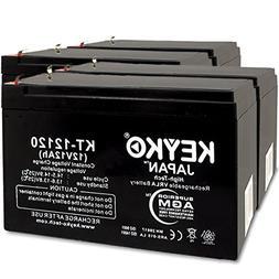 APC RBC6 SMART-UPS SU1000 RACK UPS 12V 12Ah Battery Fresh &