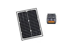 ALEKO SP20W24VSC202 24V 20-Watt Monocrystalline Solar Panel