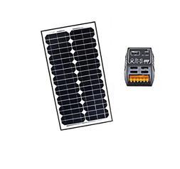 ALEKO SP30W12VSC202 12V 30-Watt Monocrystalline Solar Panel