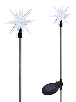 Solaration 1011-2 Sparkling Solar Star Lights Garden Stake