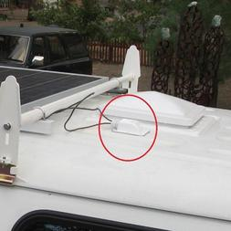 Spoiler Plate Motorhomes Roof Entry Waterproof Single Hole <