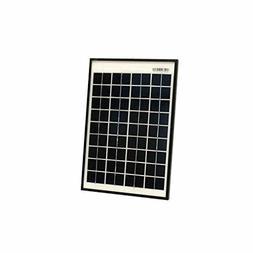 ALEKO SPU10W12V 10 Watt 12 Volt Monocrystalline Solar Panel