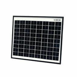 ALEKO SPU10W24V 10 Watt 24 Volt Monocrystalline Solar Panel