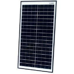 ALEKO SPU30W12V Monocrystalline Modules Solar Panel, 30W. 12