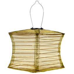 square silk effects solar lantern