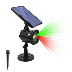 ezbnb Star Solar Laser Lights - New 2018 Solar Christmas Lig