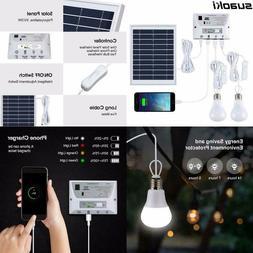 Suaoki Solar Lighting System Portable Emergency Home Light K