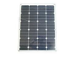 60W 18V 12V Sunpower Semi Flexible Thin Lightweight Solar Pa