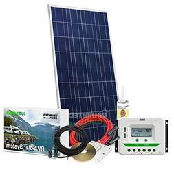 Unlimited Solar Sunroma 150 Watt 12 Volt RV Solar Charging S