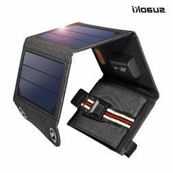 Suaoki Sunshine Power USB Solar Panel Charger Foldable
