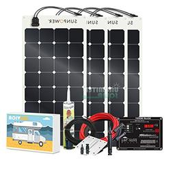 Unlimited Solar SUNVICA-PRO 400 Watt Flexible MPPT RV Solar