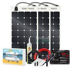 Unlimited Solar SUNVICA-PRO 300 Watt Flexible MPPT RV Solar