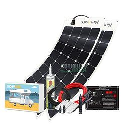 Unlimited Solar SUNVICA 200 Watt Flexible RV Solar Charging