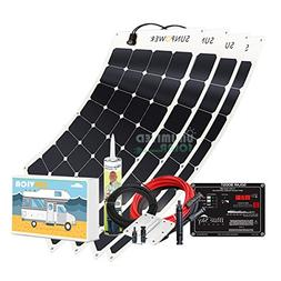 Unlimited Solar SUNVICA 400 Watt Flexible RV Solar Charging
