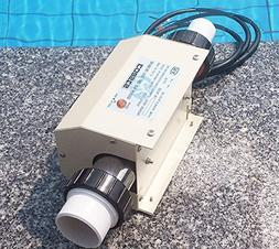 TOPCHANCES Swimming Pool and SPA Heater Electric Heating The