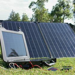 The Phoenix Solar Generator + 100 Watt Monocrystalline Folda