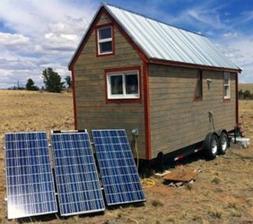 TINY HOUSE 1200W OFF GRID SOLAR POWER SYSTEM - MEDIUM BASE K