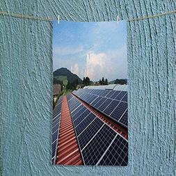 MikiDa travel towel Flat panels of solar panels Odor Resis