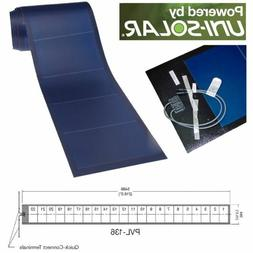 Uni-Solar PVL-136 Watt PowerBond Flexible 24V Solar Panel MC