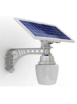 2 pack Unique REAL SOLAR PANEL Patio Safety and Security Lam