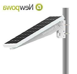 Newpowa Universal Solar Panel Mounting Bracket Single Arm Po