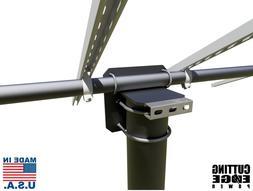 "Universal Solar Panel Pole Mount Stand Adjustable USA, 2"", 2"