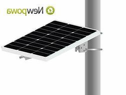 Universal Solar Panel Single Arm Pole, Wall Mount for 10W, 2