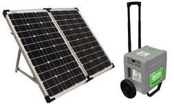 UPG  Gray 1800W 120V AC Portable Power System with 80W Solar