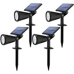 Mpow Upgraded Solar Lights, 2-in-1 Adjustable Waterproof Sol