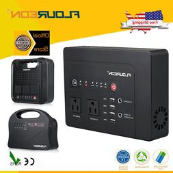 US 220Wh Solar Panel Electric Generator Charging Station 600