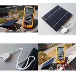 USB Mini Solar Panel Module DIY Polysilicon Solar Epoxy Cell
