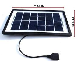 3w usb mini solar panel