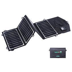 SUNKINGDOM™ 16W 2-Port USB Solar Charger with Portable Fol