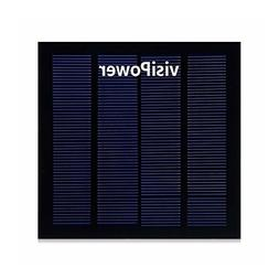 YZY TECH visiPower 1.5W 6V Portable Solar Panel Module Solar