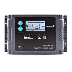 Renogy Voyager - 20A Negative-Ground PWM Controller Waterpro