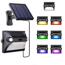Solar Lights Outdoor,AREOUT Wall Solar Motion Sensor Light O